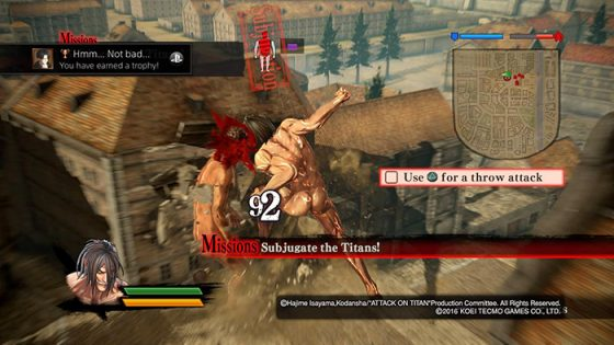 Attack on Titan - PS4 Capture Image 1
