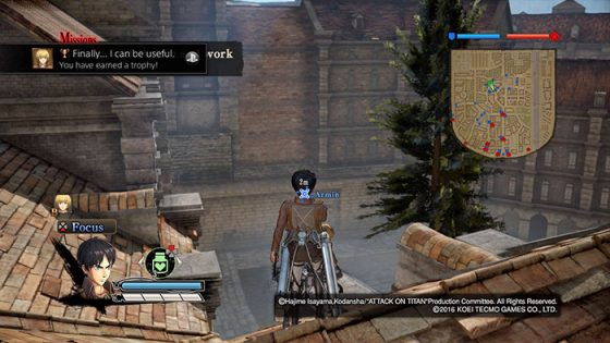 Attack on Titan - PS4 Capture Image 3