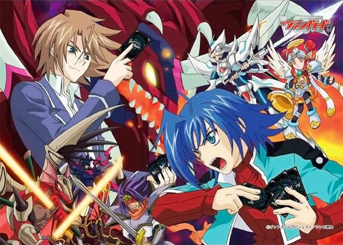 Cardfight-Vanguard-wallpaper-699x500 Top 10 Card Game Anime [Best Recommendations]