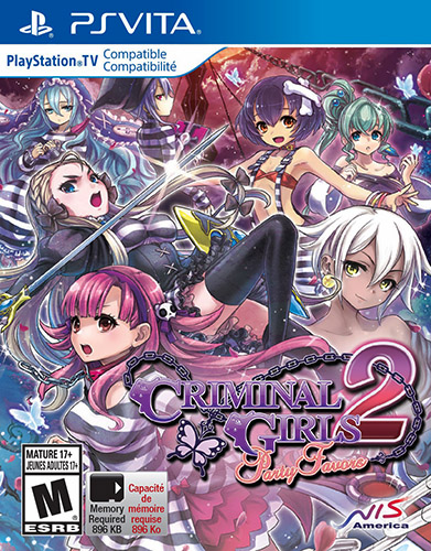 Criminal Girls 2 Party Favors - PS Vita game