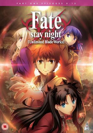 Fate Stay Night Unlimited Blade Works dvd 2