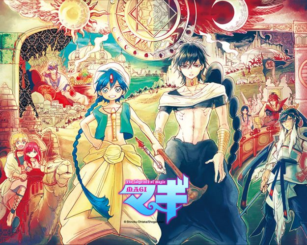 "Magi-wallpaper-625x500 Top 5 Anime by Jops ""Yuuema"" (Honey's Anime Writer)"