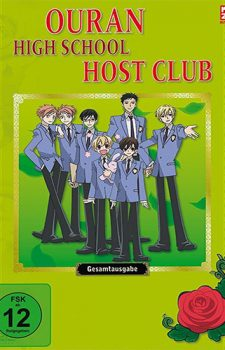 Ouran High School Host Club dvd