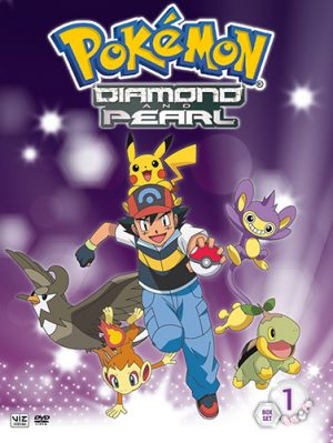 Pokemon Diamond & Pearl dvd