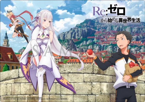 ReZero-kara-Hajimeru-Isekai-Seikatsu-wallpaper-3-560x396 Anime Streaming Chart [09/25/2016]