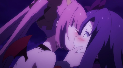 Strong Yuri Elements Throughout - Ange Vierge capture Ep. 4