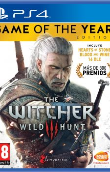 The Witcher Wild Hunt (PS4)