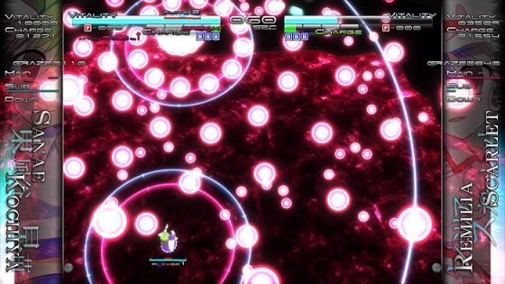 Touhou Genso Rondo Bullet Ballet game capture Image 6 - arcadenmode