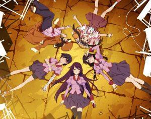6 Animes parecidos a Bakemonogatari