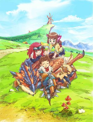 Digimon-Universe-Applimonsters-Key-Visual-2-300x423 Action Fantasy Anime Fall 2016 (Monsters, Mecha, Vampires and History!)
