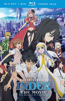 A Certain Magical Index dvd