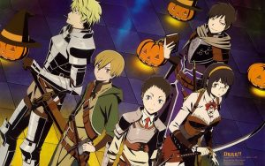 Durarara wallpaper Halloween