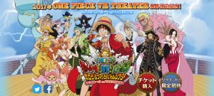 One Piece VR Theater Announced