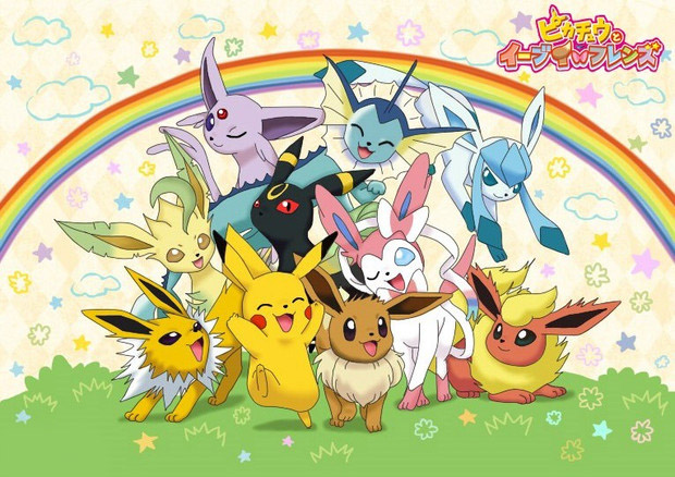 eevee-pokemon-wallpaper Top 10 Pokemon Gym Leaders