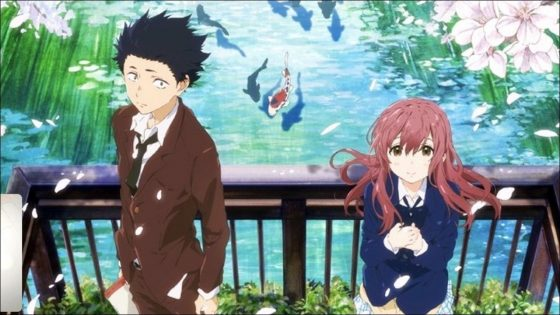 Top 10 kyoto animation anime japan poll for Koi no katachi