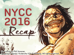 Kodansha Manga Panel 2016 - NYCC Field Report