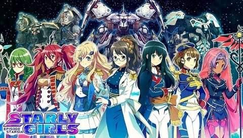 starly-girls STARLY GIRLS (Hoshi Musume) Anime Announced