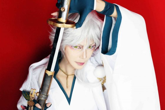 touken-ranbu-cosplay-mitsutada-shokudaigiri04-700x467 Touken Ranbu Cosplay [+45Pics] Kiyomitsu & Yasusada's Beautiful Traditional Kimono
