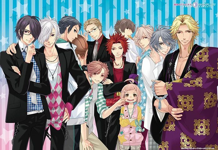 BROTHERS-CONFLICT-wallpaper-4-700x482 Top 10 Charming Brothers Conflict Characters
