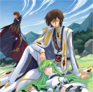 Continued Story Code Geass Hangyaku no Lelouch R2 CD