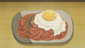 [Anime Culture Monday] Anime Recipes: Egg Hamburg Steak (Amaama to Inazuma)