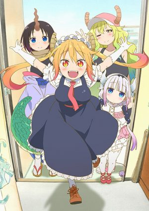 Kobayashi-san-chi-no-Maid-Dragon-300x425 6 Animes parecidos a Kobayashi-san Chi no Maid Dragon