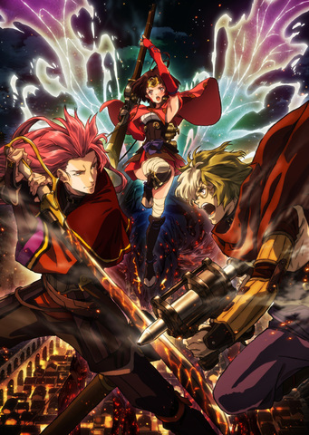 Koutetsujou-no-Kabaneri-Movie Koutetsujou no Kabaneri Movie Key Visual Released