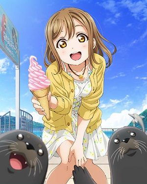 Hanamaru Kunikida from Love Live! Sunshine!! We Wish YOU a Happy Birthday!
