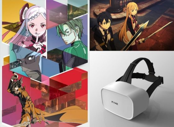 SAO-FOVE-560x407 Interact with SAO's Asuna in FOVE VR Contents