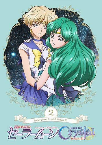 Sailor Moon Crystal dvd