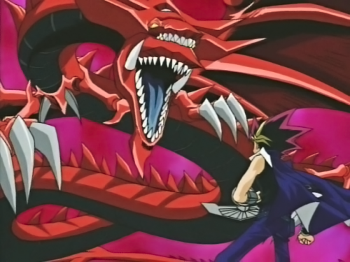Slifer the Sky Dragon Yu-Gi-Oh capture