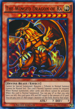 The Winged Dragon of Ra Yu-Gi-Oh