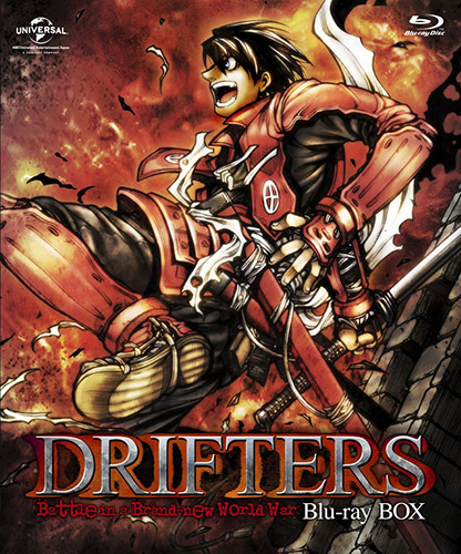 drifters-dvd-1 [Honey's Crush Wednesday] 5 Shimazu Toyohisa Highlights - Drifters