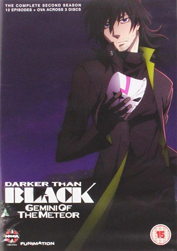 Darker than Black Kuro no Keiyakusha dvd