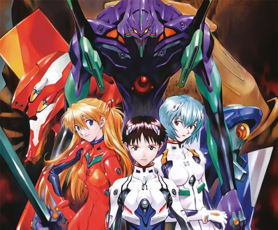 Evangelion manga wallpaper