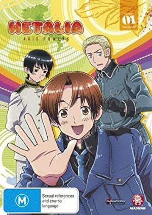 Hetalia Axis Powers dvd