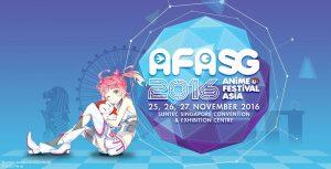 Anime Festival Asia Singapore 2016: Pre-event Info