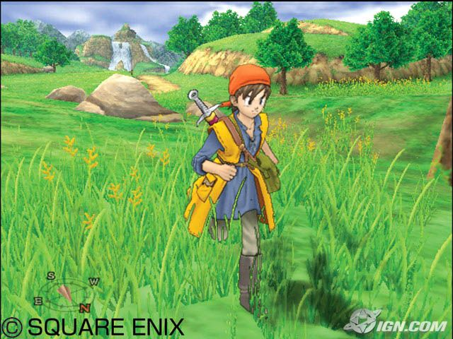Dragon-Quest-VIII-Journey-of-the-Cursed-King-game-wallpaper Top 10 Adventure Anime Games [Best Recommendations]
