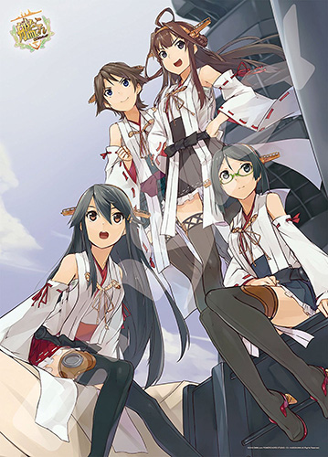 Kantai-Collection-wallpaper-2-579x500 [Thirsty Thursday] Top 10 Sexiest Kantai Collection: KanColle Characters