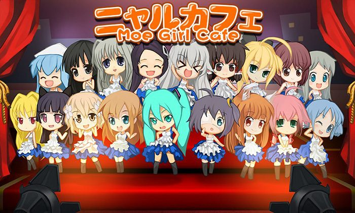 Moe-Girl-Cafe-game-wallpaper-700x420 Top 10 Casual Anime Games [Best Recommendations]
