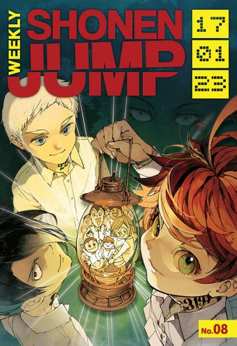 WSJ2017-01-23-Cover-342x500 Weekly Shonen Jump to Hold Live Stream This Friday