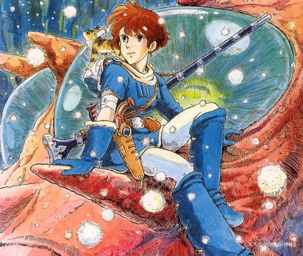 Nausicaä-wallpaper-591x500 Is Anime More Progressive Than People Think?