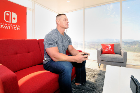 nintendo-switch-event-1 Nintendo Switch Unexpected Places Event with WWE Superstar John Cena Photos Released