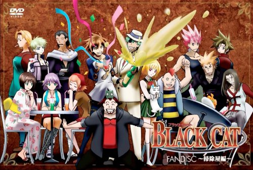 BLACK-CAT-FANDISC-dvd Top 10 Criminal Organizations in Anime [Best Recommendations]