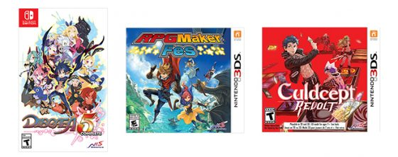 3games-560x222 Straight from Nintendo Direct, Release Dates for RPG Maker Fes, Culdcept Revolt, and Much More!
