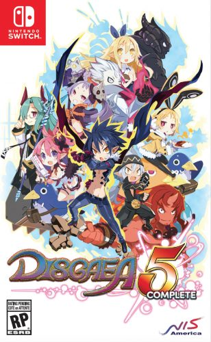 Disgaea-5-Complete_RP_Packshot-308x500 Disgaea 5 Complete - New Trailer Featuring Killia and Seraphina!