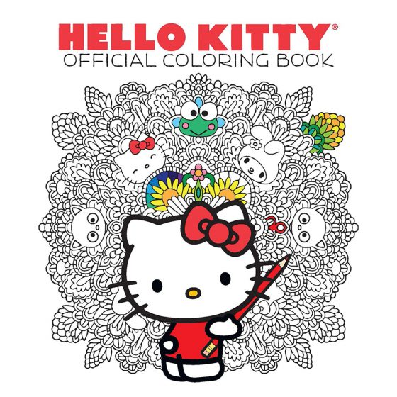 HelloKittyAndFriendsOfficialColoringBook-560x560 VIZ Media Announces The Hello Kitty(r) & Friends Coloring Book