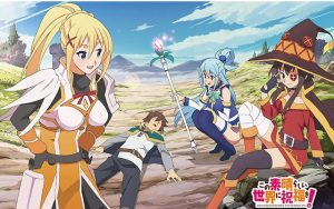 "Kono Subarashii Sekai ni Shukufuku wo! 2 (KonoSuba: God's Blessing on This Wonderful World! 2) Review ""Where a god's blessing isn't as helpful as it seems"""