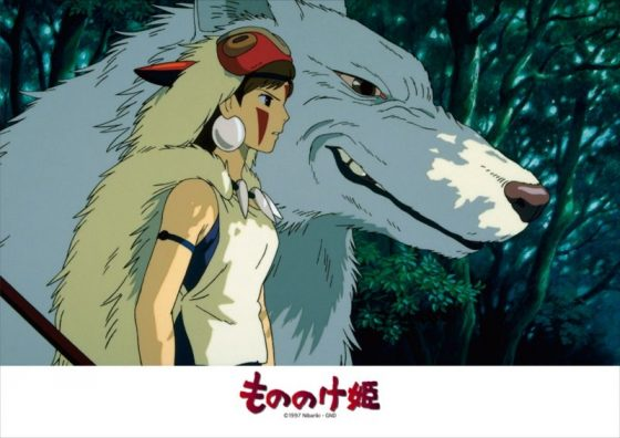 Princess-Mononoke-Mononoke-Hime-Wallpaper-496x500 Top 5 Anime by Jonathan Tshinanu (Honey's Anime Writer)