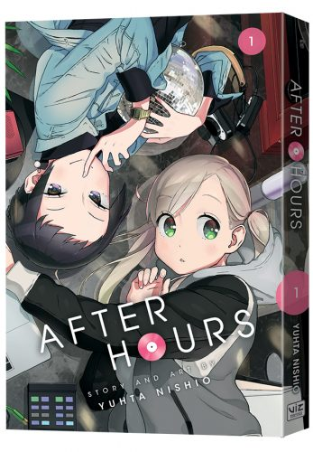 "AfterHours-GN01-3D-347x500 VIZ Media Launches The Contemporary ""Girls Love"" Manga Series - After Hours"